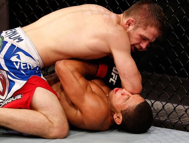 UFC Hacran Dias e Nik Lentz (Foto: Agência Getty Images)