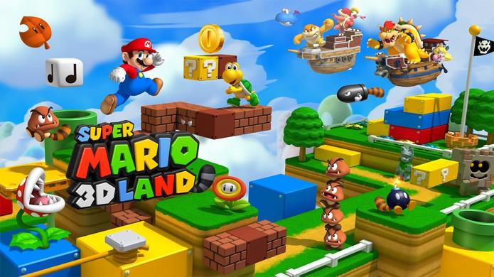 Super Mario 3D Land é a aventura mais épica do personagem no Nintendo 3DS (Foto: Reprodução/The Gamer Scene)