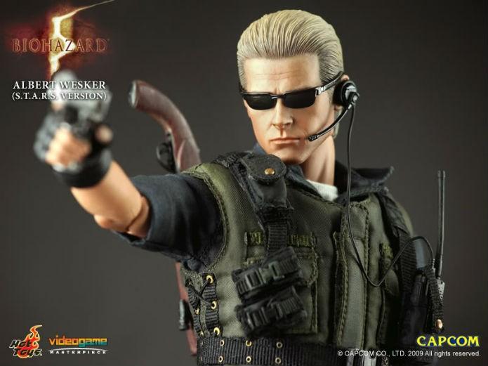 Wesker, como visto em Resident Evil 5, é um dos mais cobiçados da linha da Hot Toys (Foto: Divulgação/Hot Toys)