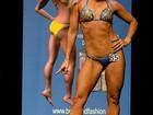 Musa do Fitness Model Gabriela Bayerlein exibe o corpo sarado com seus 6% de percentual de gordura corporal