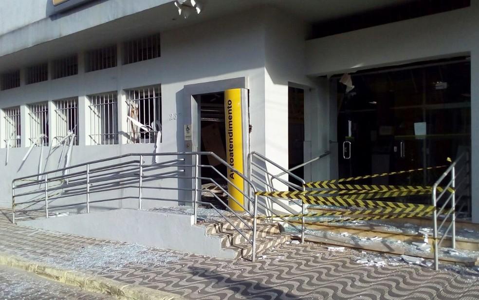 Número de ataques as agências bancárias na Paraíba teve redução de 40% (Foto: Felipe Valetim/TV Paraíba)