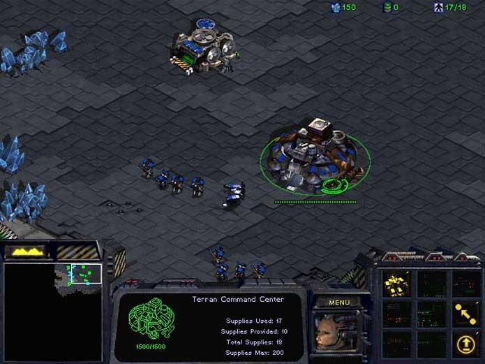 StarCraft tem comandos baseados quase totalmente no mouse (Foto: Reprodução/Felipe Vinha)