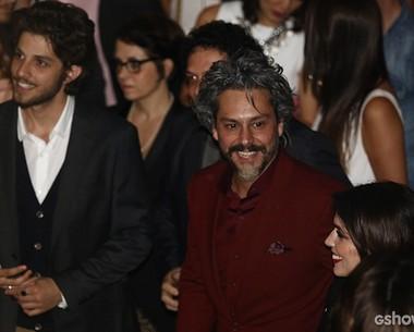 Chay e Nero na festa da novela (Foto: Fábio Rocha/ TV Globo)