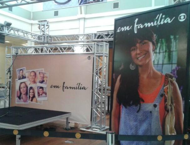 Inter TV dos Vales promove espaço Em Família no GV Shopping. (Foto: Deisianne Mendes / Inter TV MG)