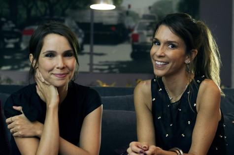 Débora Falabella e Sarah Oliveira (Foto: Eduarda Jofily)