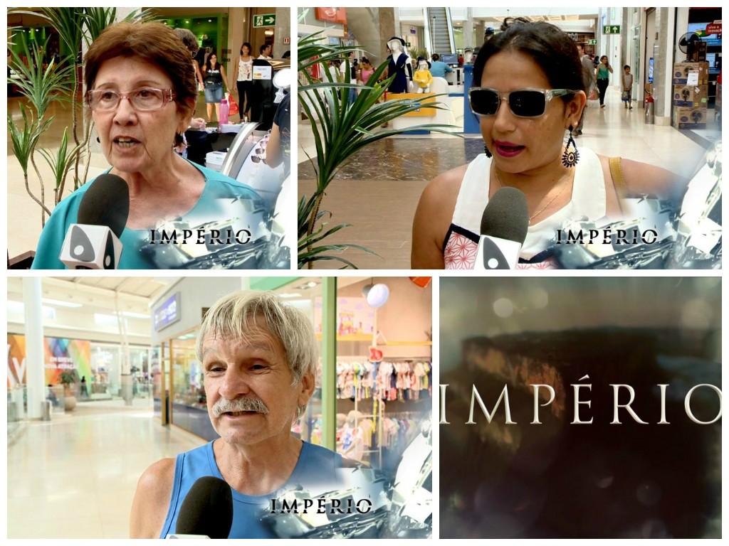 Povo Fala Império (Foto: Divulgação/ TV Gazeta)