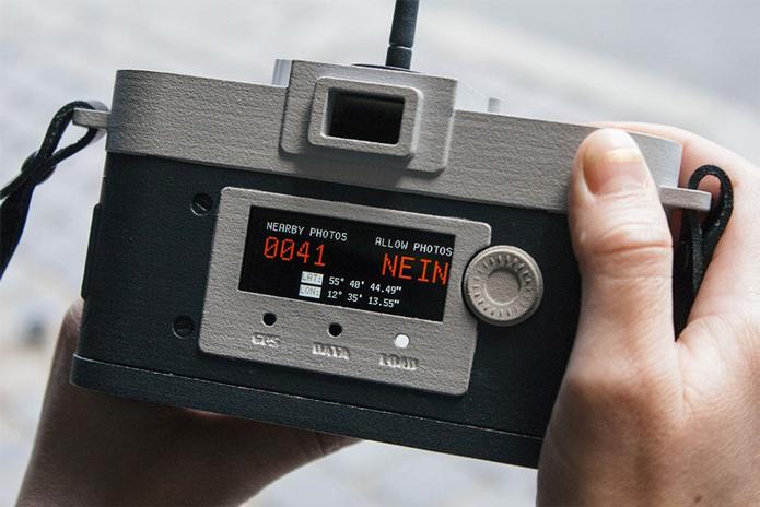 Câmera usa GPS e informações da Internet para impedir que você fotografe pontos muito manjados (Foto: Divulgação/Philip Schmitt)