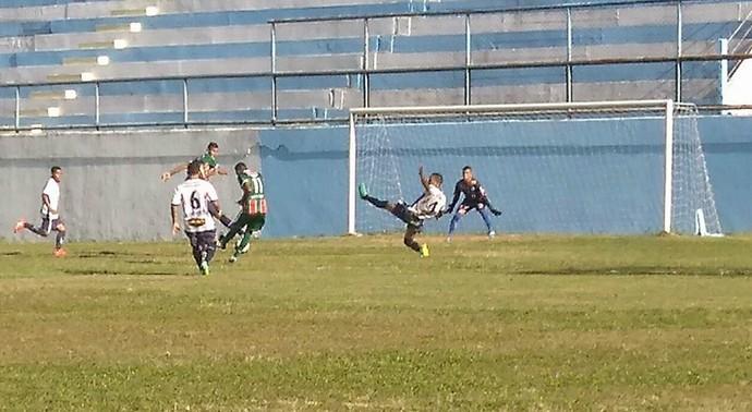 Gol de Jefiinho, pelo Rio Branco VN (Foto: Cid/Rio Branco FC)