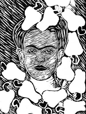 Xilogravura da artista Rosylene Pinto é apresentada em exposição no Sesc (Foto: Divulgação)