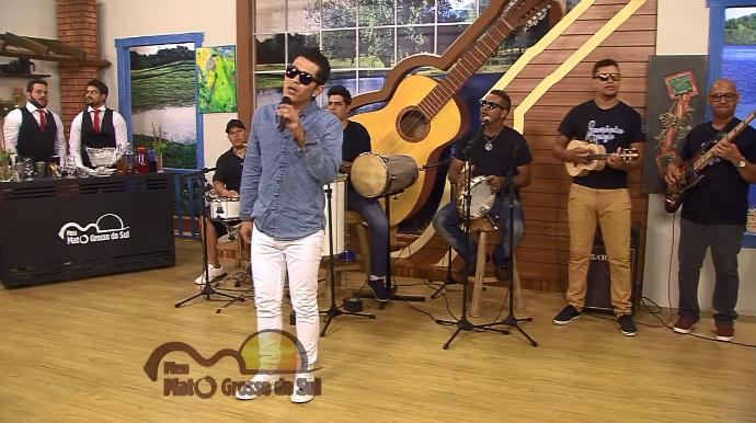 Laurinho Balejo participa do Meu MS de sábado (Foto: TV Morena)