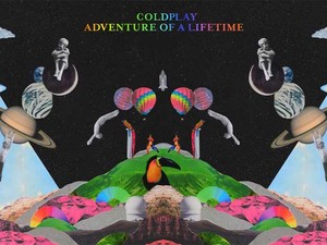 Capa de 'Adventure Of A Lifetime', novo single do Coldplay (Foto: Divulgação)
