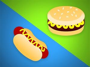 Hotdog e hamburguer (Foto: BBB/TV Globo)