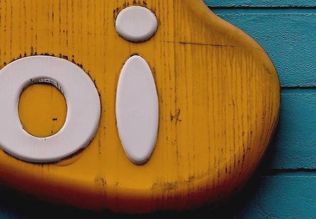 Logo da Oi em agência da operadora (Foto: Agência O Globo)
