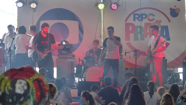Rock Rota 80 também mandou bem na escolha das músicas (Foto: Divulgação/RPC)
