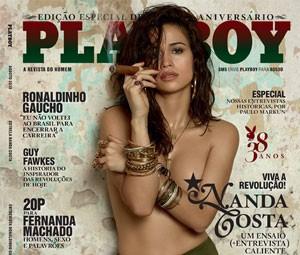 Capa da edição de agosto de 2013 da 'Playboy' (Foto: Divulgação)