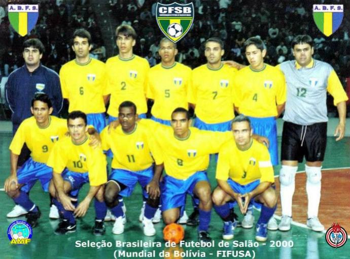 Seleção brasileira futsal AMF (Foto: Reprodução Facebook)