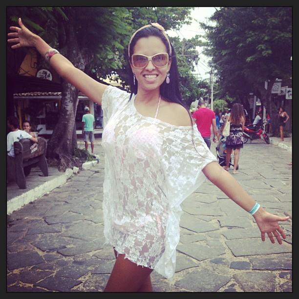 Ariadna em Búzios (Foto: Instagram / Reprodução)