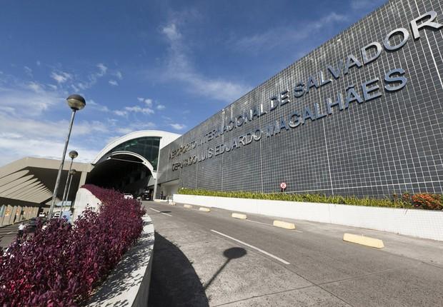 Aeroporto Internacional Deputado Luiz Eduardo Magalhães em Salvador (Foto: Divulgação)