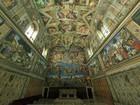 Papa Francisco recebe sem-teto em visita à Capela Sistina