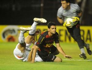 Sport perde para o Figueirense, na Ilha  (Foto: Aldo Carneiro / Pernambuco Press)