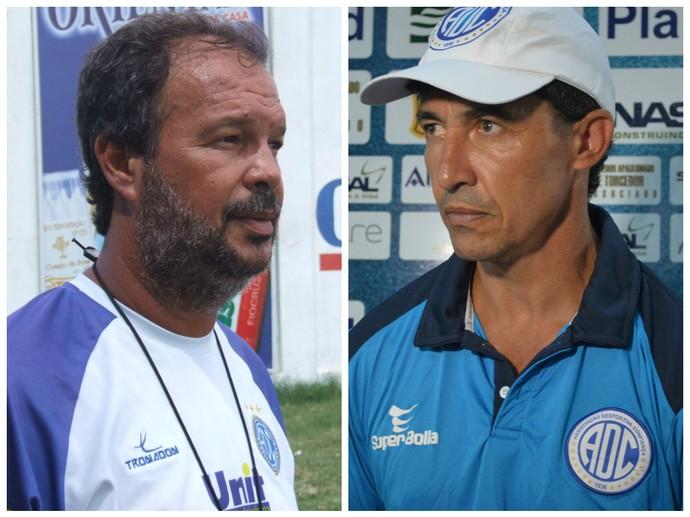 Maurício Simões vs Betinho (Foto: GloboEsporte.com)