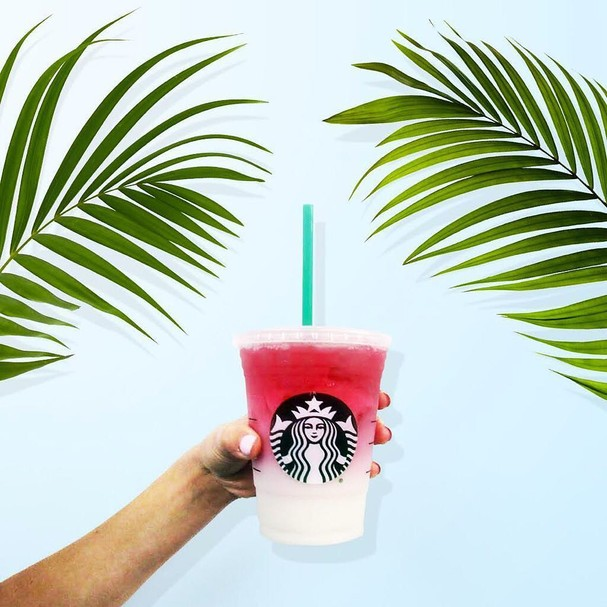 Ombré Pink Drink, do Starbucks (Foto: Reprodução Instagram)