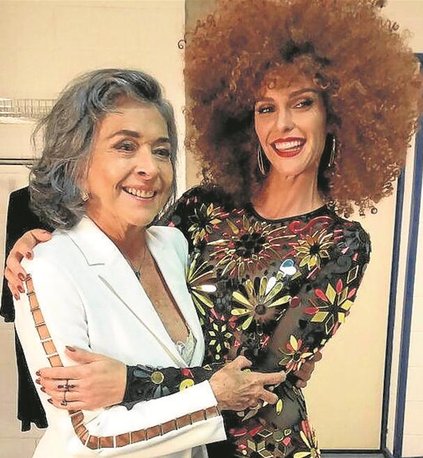 Betty Faria e Fernanda Lima (Foto: Arquivo pessoal)
