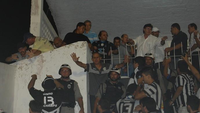 Após confusão no PV, Nelson Lira diz ter sido ofendido por dirigente do Treze