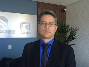 Delegado Geral da Polícia Civil Alessandro Vieira  (Foto: Joelma Gonçalves/G1)