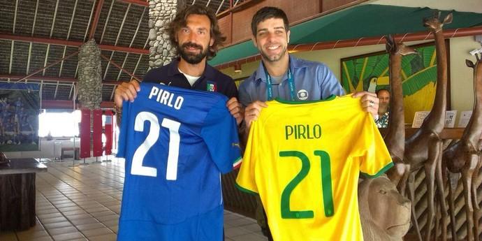 pirlo juninho camisas (Foto: Reprodução / Twitter)