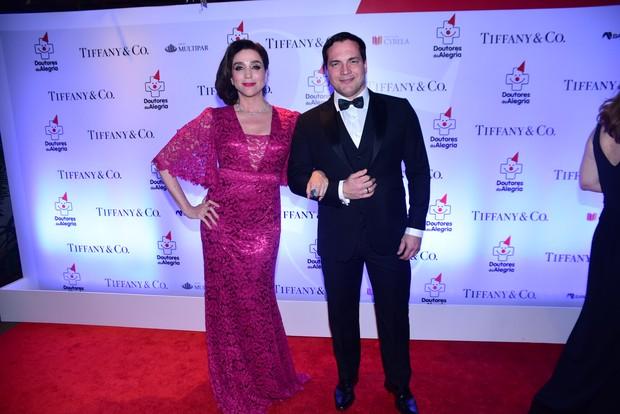Marisa Orth e Daniel Boaventura (Foto: Leo franco / AgNews)