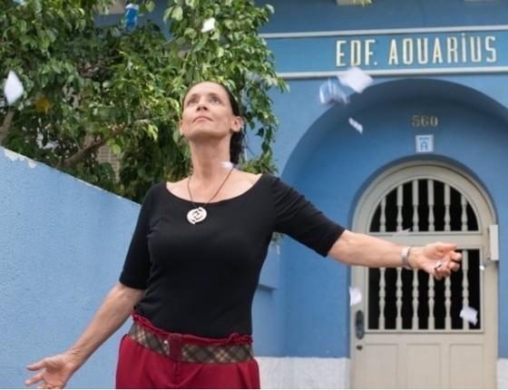 Sonia Braga estrela Aquarius, filme que concorreu à Palma de Ouro em Cannes este ano (Foto: Reprodução)