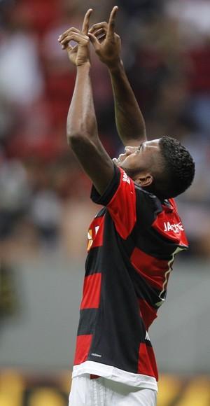 Marcelo Cirino comemora gol contra o Vasco (Foto: Gilvan de Souza/Fla Imagem)
