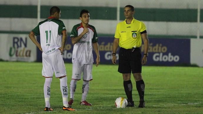 Suelson Diógenes, árbitro potiguar (Foto: Gabriel Peres/Divulgação)