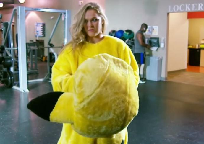 Ronda Rousey Pikachu