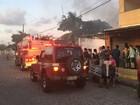 Incêndio atinge casa em João Pessoa; vela acesa pode ser causa