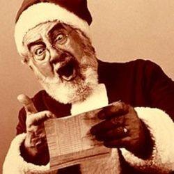 Papai Noel irritado (Foto: Arquivo Google)