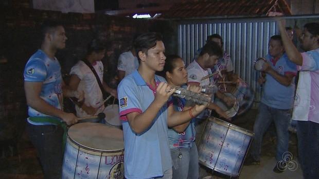 escola de samba, amapá, jornal do amapá, guiana francesa (Foto: Jornal do Amapá)