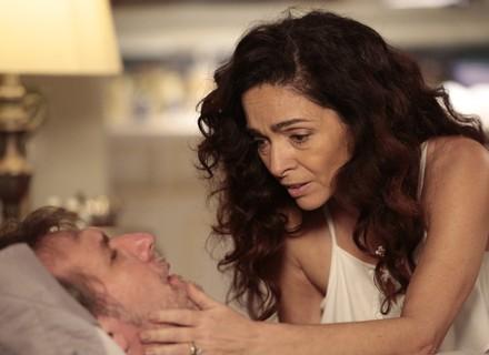 Massimo pede para Loretta visitar os filhos quando ele morrer