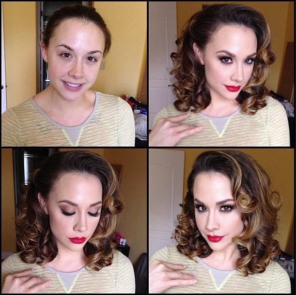 Atriz sem maquiagem 6