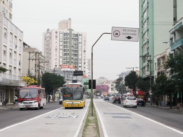 Novo trecho do corredor da Protásio Alves será liberado nesta segunda em Porto Alegre (Foto: Betina Carcuchinski/PMPA)