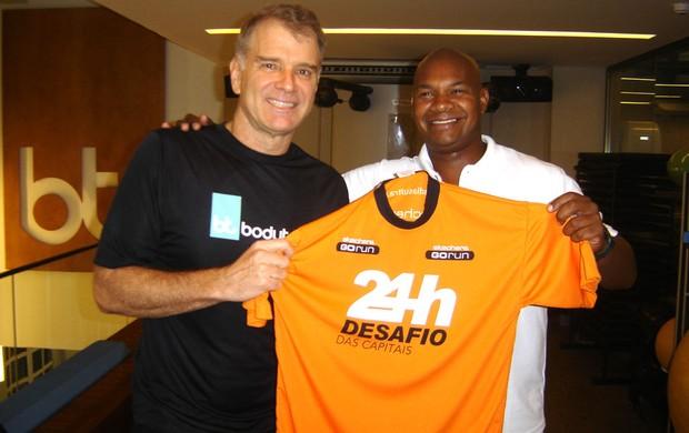 Vôlei Bernardinho e Carlos Dias (Foto: Igor Castello Branco)