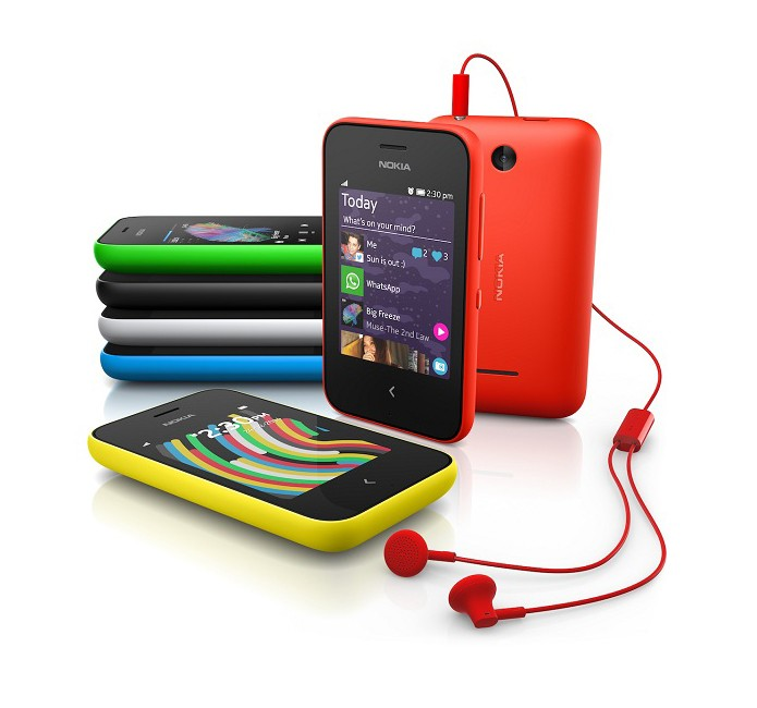Modelo possui tela touchscreen e será vendido em diversas cores (Foto: Divugalção/Nokia)