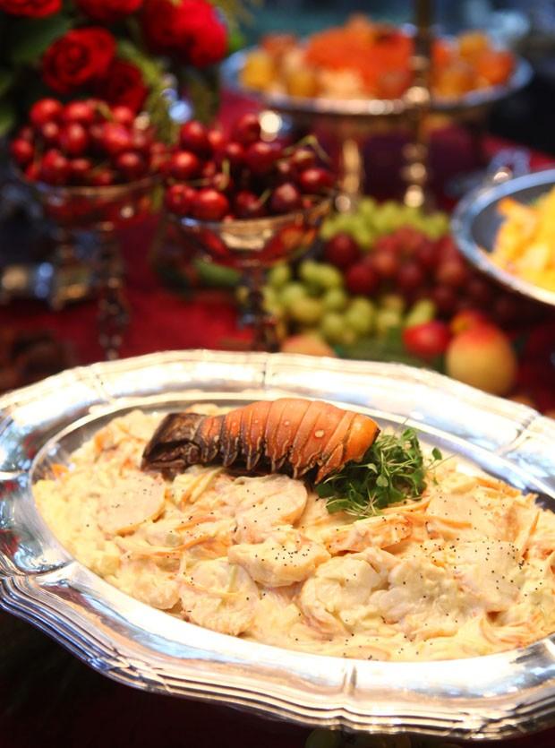 Receita de salpicão de lagosta (Foto: Divulgação)