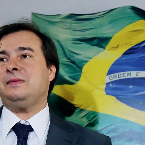 Rodrigo Maia novo presidente da Câmara (Foto: Aílton de Freitas/Agência O Globo)