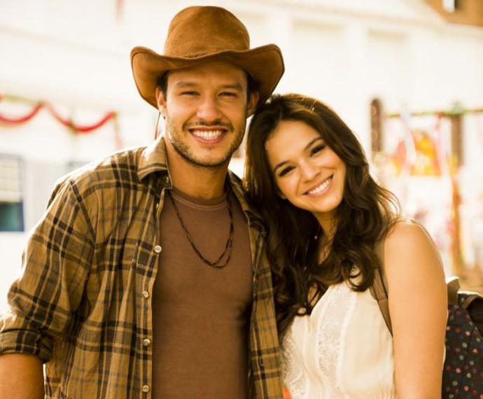 Personagem de Nando Rodrigues era apaixonado por Leninha  (Foto: TV Globo)
