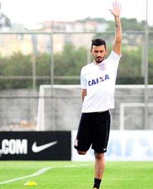 Uendel Reapresentação Corinthians (Foto: Marcos Ribolli)