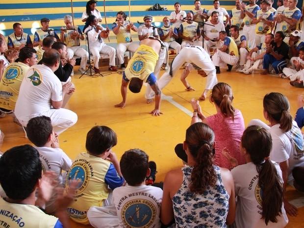Festival de Capoeira em Tatuí terá roda, workshop e batizado (Foto: Divulgação)