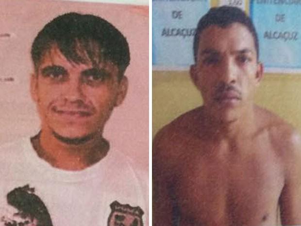Arlindo de Lima Silva e Rodrigo Nascimento Silva foram encontrados soterrados nesta segunda (9) em Alcaçuz (Foto: Divulgação/Coape)