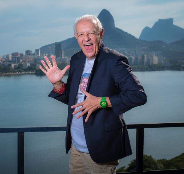 Ney Latorraca (Foto: Fabio Cordeiro/ Ed. Globo)